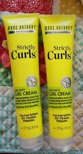 2 Pack Marc Anthony Strictly Curls Curl Envy Perfect Curl Cream Tubes Styling