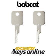 Bobcat & Case Skid Steer (Set Of 2) Excavator key D250