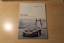 01689) VW Passat Individual Prospekt 07/2005