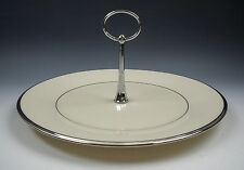 Lenox China SOLITAIRE Serving Tray with Handle EXCELLENT