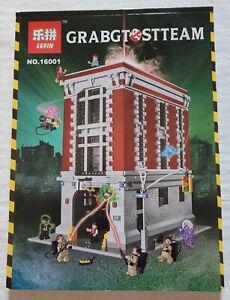 Ghostbusters Building Blocks Set 16001 Movie Firehouse Headquarters Brick Model