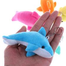 2X Kawaii 10CM Dolphin Stuffed toy Pendant TOY DOLL Bouquet Decor Plush toy  Fad