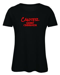 Gerry Cinnamon T Shirt Canter Inspired Song Gig Festival Ladies