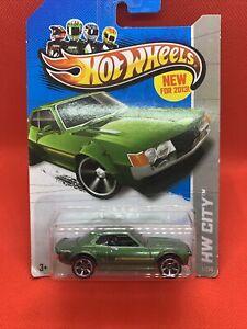 Hot Wheels 2014 - '70 TOYOTA CELICA 1600 GT [GREEN] VHTF CARD EXCELLENT
