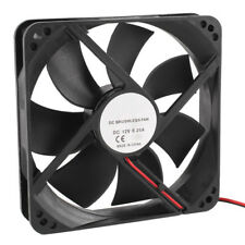 5x(120mm X 25mm 12v 2pin Sleeve Bearing Cooling Fan for Computer Case HY