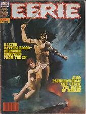 Eerie #116 1980 Monsters Aliens Sci Fi Horror Space Science Fiction De La Fuente