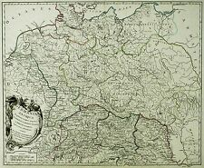 DEUTSCHLAND - GERMANIA ANTIQUA - Robert de Vaugondy - Kupferkarte 1775