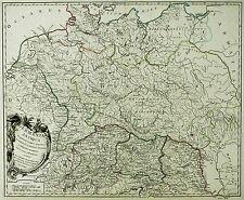 DEUTSCHLAND - GERMANIA ANTIQUA - Robert de Vaugondy - Kupferkarte 1775