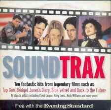 SOUNDTRAX: PROMO CD: TOP GUN, BRIDGET JONES'S DIARY / BONNIE TYLER, CYNDI LAUPER