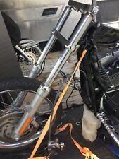 2006 Harley FXS T Softail- Straight front Forks leggs  Triple Tree