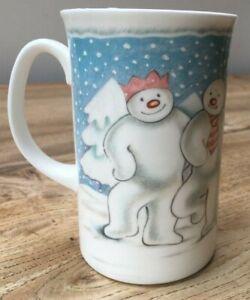 "Royal Doulton The Snowman Mug ""The Party"" 1985 Gift Collection VGC tall mug"