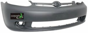 TO SUIT TOYOTA ECHO SEDAN FRONT BUMPER 12/02 to 08/05