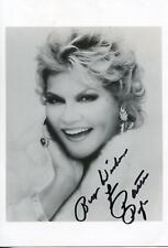 PATTI PAGE HOW MUCH IS THAT DOGGIE IN THE WINDOW SINGER SIGNED PHOTO AUTOGRAPH