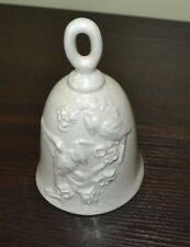 Bell with Birds and Flowers 6""
