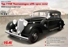 ICM 1/35 Mercedes Typ 770K Tourenwagen w/Open Cover WWII German # 35534