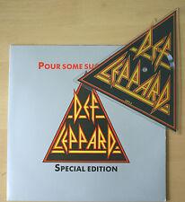 Def Leppard - Pour Some Sugar On Me UK SHAPED VINYL PICTURE DISC! (LEPS2) EX!