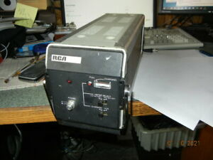 RCA CHARGER  HR1020  MI-591322    professional video equipment