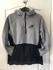 NIKE AIR MENS Tracksuit Top SWEATSHIRT hoodie Jacket Gym Running CASUALS LARGE L
