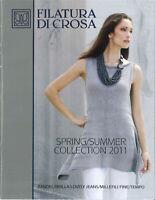 Filatura Di Crosa Spring Summer Collection 2011 14 Designs Knitting Pattern Book