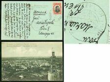 Turkey/Bulgaria Occ. 1913 card/10st/TSENZURIA...ODRIN