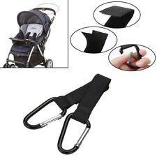 2pcs Baby Pushchair Pram Stroller Buggy Hanger Trolley Carabiner Clip Hooks New