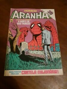 Spiderman #8 of 1984 first serie Abril Editora May Parker comic magazine