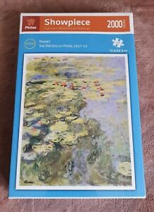 Plastic Puzzle 2000, Pintoo, The Waterlily Pond, Monet