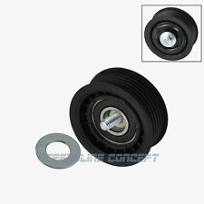 Mercedes-Benz Drive Belt Idler Pulley (Grooved) KM Premium Quality 2721019