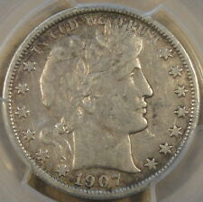 1907-S Barber Half PCGS VF35 Not the Quality I like to Handle