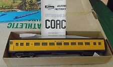 Athearn CHARLIE'S ALASKA Trains Coach #301 Handpainted & Lettered NEW