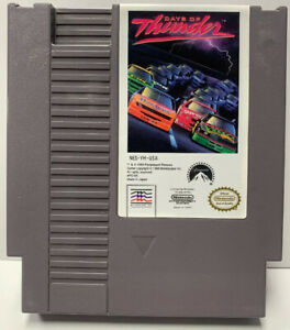 Days of Thunder Nintendo NES Cartridge Only Authentic Clean Tested By Mindscape