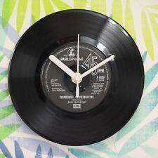 "Paul McCartney 'Wonderful Christmastime' Retro Chic 7"" Vinyl Record Wall Clock"