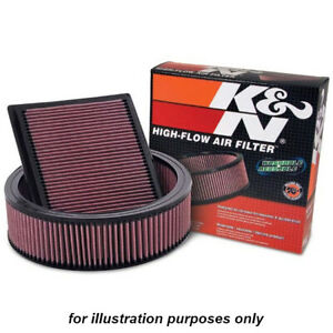 K&N 33-2937 for Peugeot 206 washable reusable high flow drop in panel air filter