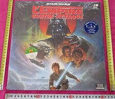 Star Wars L'empire contre attaque Laserdisc PAL FR NEUF C.A.V. THX LD 142539