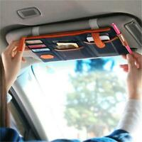 Sun Visor Point Pocket Pouch Bag In-Car Organizer Card Storage Holder Bags 6L