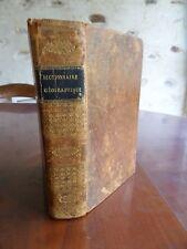 Dictionnaire géographique par Vosgien Relié cuir 1821 dico de géographie