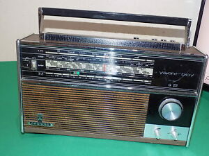 GRUNDIG YACHT-BOY 4 Band RADIO Vintage Foreign Made Untested SPARES / REPAIRS