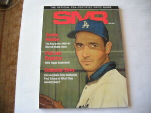 MAY 2019 SMR OFFICIAL PSA PRICE GUIDE SANDY KOUFAX 1969 TOPPS BASKETBALL