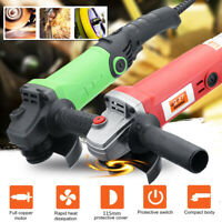 Electric Angle Grinder 1350W/980W 115/100mm Adjustable Speed Metal Cutting