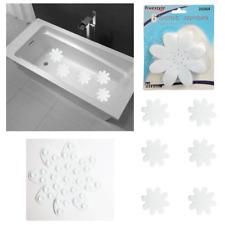 6 Bathtub Flower Safety Decals Sticker Treads Non Slip Anti Skid Shower Applique
