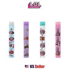 L.O.L Surprise! Soft Neon Stick Eraser School Supply Goody Bag : Set of 4
