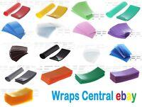 """50 pcs """"Pick Color!"""" 18650 Lithium Battery Heat Shrink Wraps + 25 pcs Insulators"""