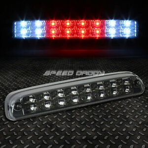[2-ROW LED]FOR 99-16 SUPER DUTY RANGER THIRD 3RD TAIL BRAKE LIGHT LAMP SMOKED