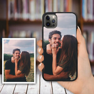 PERSONALISED Custom PHOTO Phone Hard Case Cover For iPhone XS Max 11 12 Pro Max