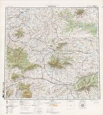 Russian Soviet Military Topographic Maps - LEWISTOWN (USA), 1:500 000, ed.1981