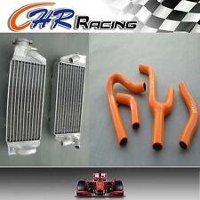 Aluminum Radiator&hose for KTM 250/300/380 EXC/MXC/SX 1998-2003 1999 2000 2001