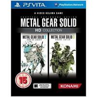 Metal Gear Solid HD Collection (Sony PlayStation Vita, 2012) **NEW & SEALED **