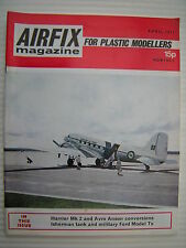 Airfix Magazine For Plastic Modellers - April 1971 - Military Modelling etc.