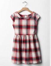 GAP Kids Girls Fit & Flare Plaid Flannel Dress XL 12 Holiday Christmas NWT $40