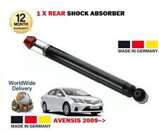 FOR TOYOTA AVENSIS 2009->NEW 1x REAR SHOCK ABSORBER STRUT SHOCKER